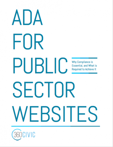 ADA for Public Sector Websites